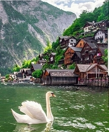 Beautiful Town Hallstatt In...