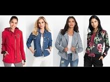 Kurtki wiosenne damskie // Spring jackets for women 2018