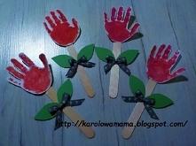 zajęcie dla dzieci. tulipanki :)