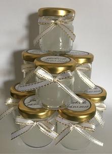 mini świeczki - wesele, Komunia Święta, Chrzciny