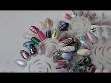 manicure hybrydowy wzorniki...