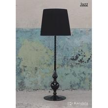 Lampa podłogowa stojąca JAZZ KANDELA LS-3  Seria pięknych lamp wykonanych z lakierowanego drewna oraz pięknego plisowanego tasiemkowego abażuru.  Lampy dostępne w trzech wersjac...
