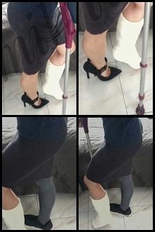 1°6 Wygodne obuwie (wiem zdjęcie nazbyt dosłowne)Obcasy chwalą kobiecą stronę...