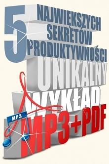 5 największych sekretów produktywności / Sebastian Schabowski