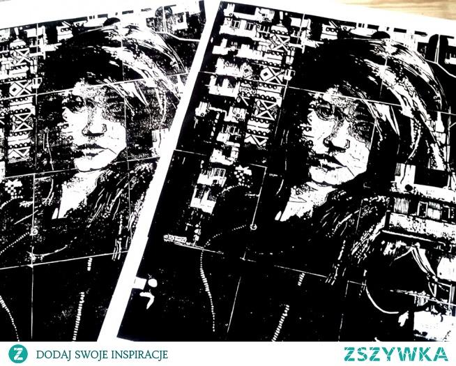 A co sądzicie o o portretach wykonanych przeze mnie w technice linorytu? Na prowadzonym przeze mnie blogu możecie zobaczyć więcej podobnych prac artystycznych. Zapraszam :)