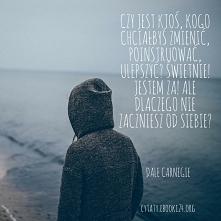 Dale Carnegie cytat o zmienianiu innych