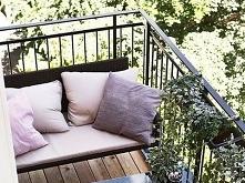 Mały balkon może wyglądać spektakularnie [zdjęcia+triki]