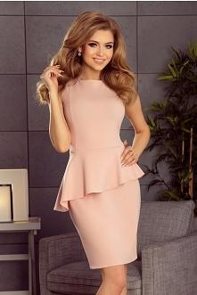 Elegancka sukienka z baskin...