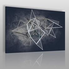 Głębia niebytu - nowoczesny obraz na płótnie