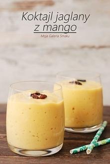 Koktajl jaglany z mango   Składniki na 2 porcje:      2 łyżki ugotowanej kaszy jaglanej     1 szklanka mleka krowiego lub roślinnego     1 małe mango (u mnie mrożone)     garść ...