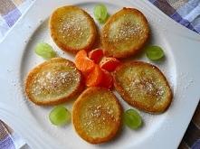 Szybkie, smaczne i puchate racuszki,najnowsza kombinacja śniadaniowa dla Mojego Synka ;-) Przepis po kliknięciu w zdjęcie.