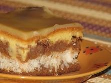 Składniki: Ciasto: 25 dag margaryny 8 żółtek ¾ szklanki cukru 2 szklanki mąki...