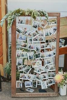 ścianka ze zdjęciami