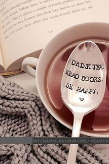 Tea + Books = Happy