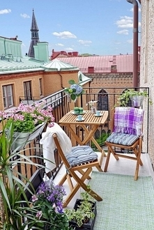 balkon inspiracja