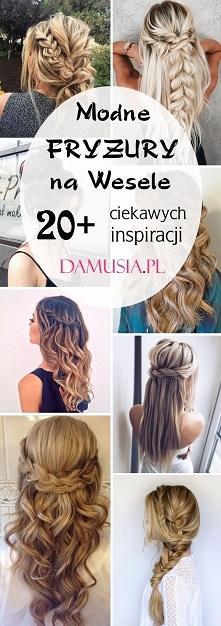 Włosy Fryzury Inspiracje Tablica Monisia812 Na Zszywkapl
