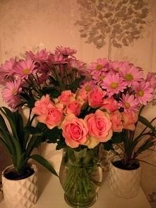 Dzis rozyczki dolaczyly do wazonu ;)