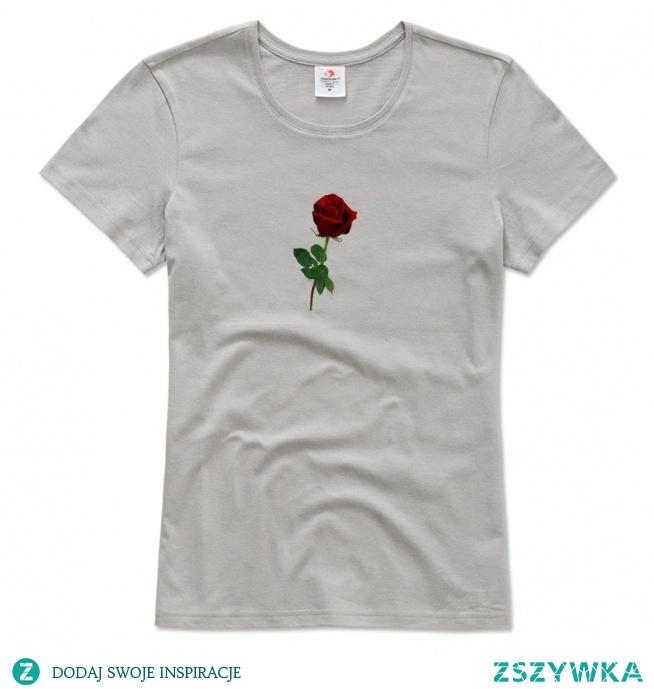 Nowe koszulki z nadrukami w róże ♥ swagshoponline.pl