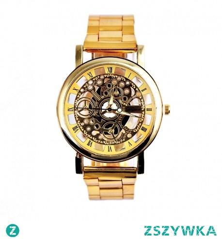 Zegarek Machiner w stylu mechanicznym, który stał się światowym bestsellerem na rynku zegarków. Jego niezawodny, kwarcowy mechanizm w połączeniu z mineralnym szkiełkiem-odpornym na zarysowania oraz stłuczenia perfekcyjnie komponuje się z bransoletą z wysokogatunkowej stali. To wyrafinowane połączenie podbiło serca Europejczyków. Model Machiner dostępny w dwóch wersjach kolorystycznych (złoty oraz srebrny) wyznacza teraz szlaki nowej modzie oraz sprawia, że każdy posiadacz machiner'a emanuje stylem oraz staje się genezą nowego, światowego trendu.