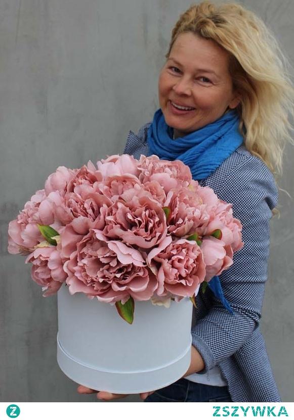 boski flower box z peonii od tenDOM