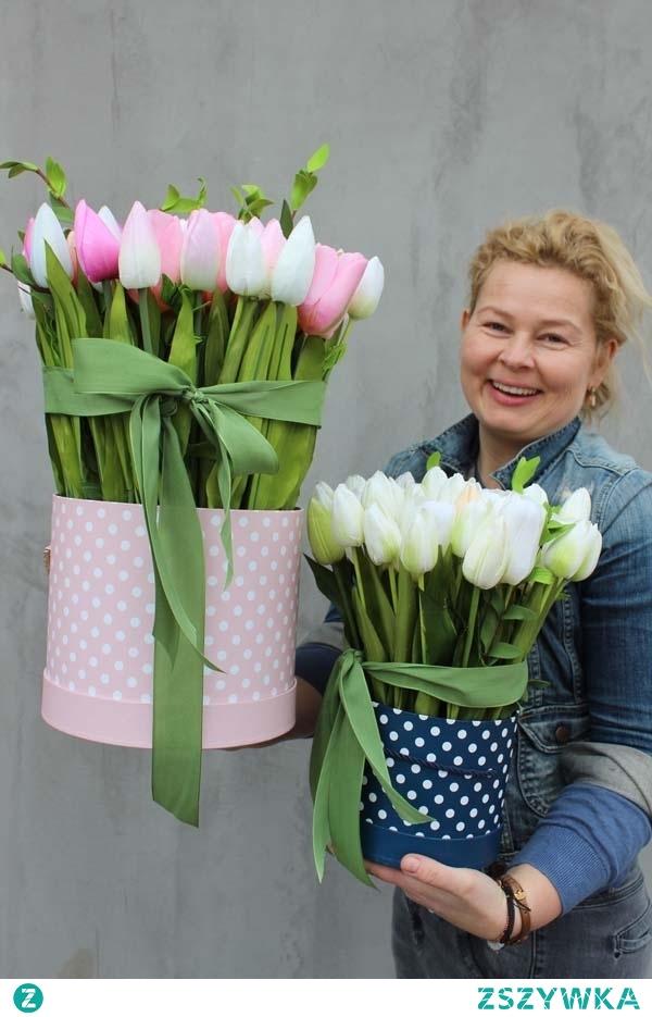 kwiaty we flower boxach od tenDOM.pl - wieczne i piękne