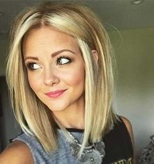 . Blonde.