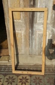 Drewniana rama na lustro lub na obraz.... 30zl.