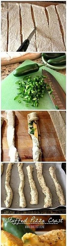 Paluszki francuskie z serem...