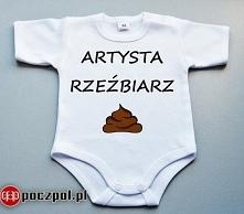 Artysta rzeźbiarz - body niemowlęce