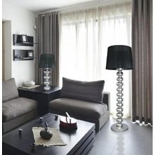 DECO nowoczesna lampa podłogowa z abażurem. Oprawa która tworzy niesamowity e...