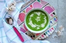 Zupa szpinakowa dla dzieci ...