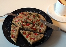omlet z lnem