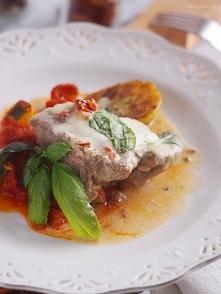 Szybki kurczak z suszonymi pomidorami i mozzarellą / Easy chicken with sun dr...