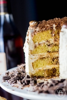 Tiramisu Cake | Catz in the Kitchen | catzinthekitchen.com | #tiramisu #cake ...