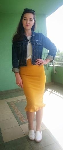 słoneczna stylizacja, daily outfit