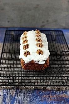 ciasto marchweka z orzechami
