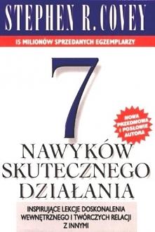 """Książka """"7 nawyków skutecznego działania"""". Inspirujące lekcje dosko..."""