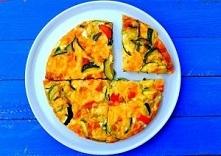 Pieczony omlet z warzywami,...