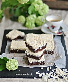 Ciasto kakaowo – kokosowe z...