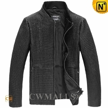 CWMALLS® Aurora Fitted Quilted Leather Jackets CW807027[Father's Day Gift]