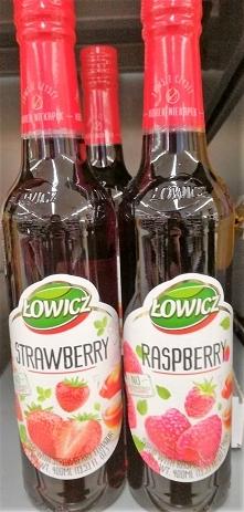 """Syropy owocowe """"Łowicz..."""