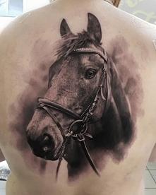 koń tatuaż