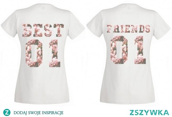 Koszulki dla przyjaciółek Best & Friends! Więcej znajdziesz na swagshoponline.pl ♥