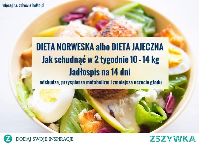 Jadłospis na 14 dni diety odchudzającej, czyli jak schudnąć 10-14 kg w 2 tygodnie na diecie norweskiej. Rezultaty naprawdę zdumiewające, ale co się dziwić ...