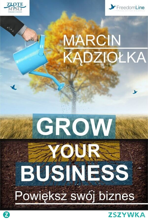 Audiobook Grow Your Business - Powiększ swój biznes - Marcin Kądziołka.  Jak mieć więcej czasu wolnego i radości z prowadzenia firmy bez wprowadzania kosztownych i ryzykownych zmian?  Wyobraź sobie jakby to było, gdyby Twoja firma działała bez Twojego udziału?