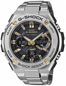 Casio GST-W110D-1A9ER zegarek G-shock w wersji ze stali szlachetnej na wygodnej bransolecie. Odporny również na wstrząsy, uderzenia wyposażony w solarny panel oraz automatycznie...