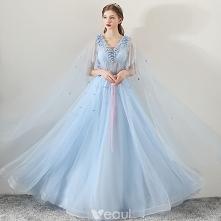 Piękne Błękitne Sukienki Wi...