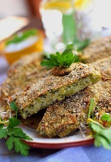 Fit placki z kaszy jaglanej i brokuł - pieczone, NIE