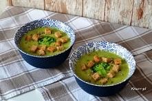 Zupa krem brokułowa Szybko i bardzo smacznie!
