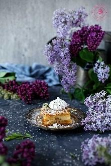 Ciasto z jabłkami i budyniem - Wypieki Beaty